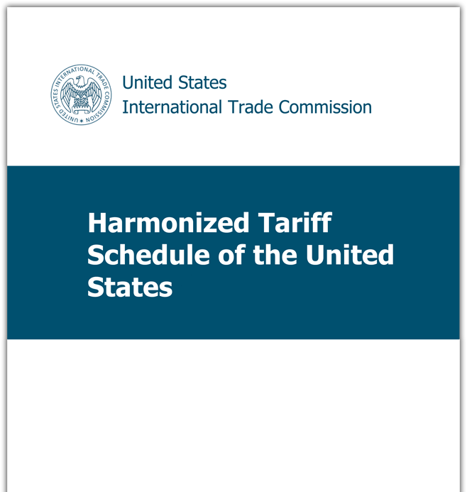 2019 Harmonized Tariff Schedule LTS   HTS and 19CFR'S